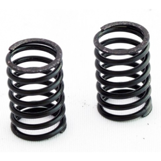 REAR SHOCK SPRINGS 0.55KG BLACK (2PCS)