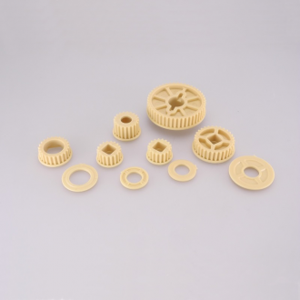 1/8 KEVLAR PULLEY KIT WITH 29t PULLEY