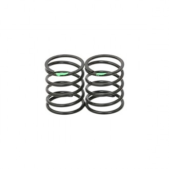 BIG BORE SHOCK SPRING 0.28g GREEN (2pcs)