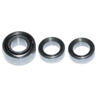 CLUTCH BELL BEARING KIT FOR 1/10 (3PCS)