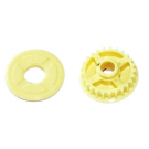 KEVLAR BELT PULLEY MID-SIDE Z25 + FLANGE