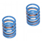 FRONT SHOCK SPRINGS 0.85KG WHITE/BLU (2PCS)
