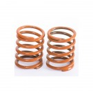 FRONT SHOCK SPRINGS 0.61KG BROWN (2PCS)