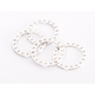 LIGHT SHIMS FOR THE WHEEL SHAFT - 1MM (2 PCS)