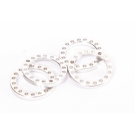 LIGHT SHIMS FOR THE WHEEL SHAFT - 2MM (2 PCS)