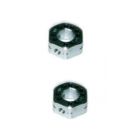 WHEEL HEX HUB OFFEST +0 (2PCS)