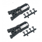 LOW ARM FRONT SET WITH SHIMS (2PCS)