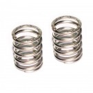 FRONT SHOCK SPRINGS 0.74KG WHITE/SILVER (2PCS)