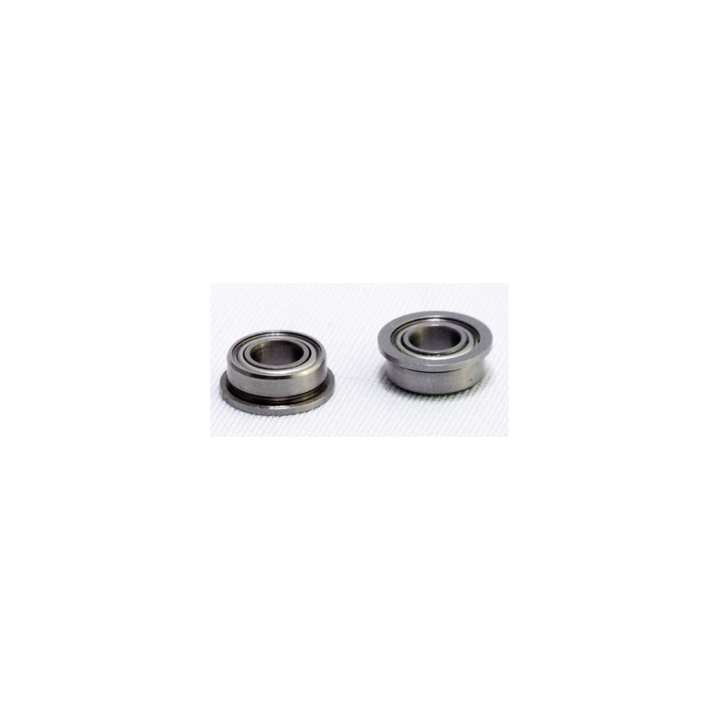 BALL BEARING 5X10X4 FLANGED (2 PCS)