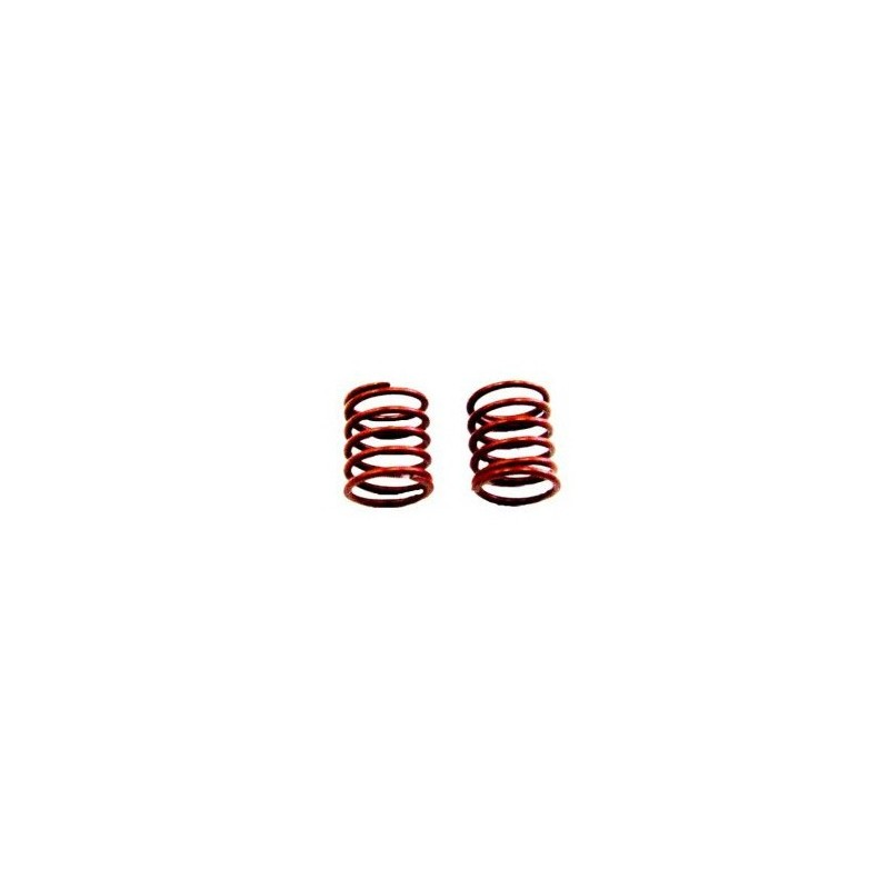 FRONT SHOCK SPRINGS 0.63KG RED (2PCS)